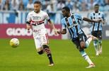 Grêmio encerra tabu, vence  São Paulo na Arena pela 1ª  vez e encosta na liderança (Lucas Uebel/Grêmio)