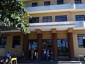 Fórum Thomaz de Aquino - Recife (Foto: Katherine Coutinho / G1)