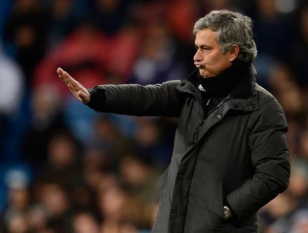 Mourinho gol Madrid (Foto: AFP)