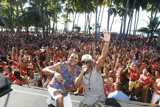 Compadre Washington e Beto Jamaica (Foto: Fred Pontes/Divulgação)