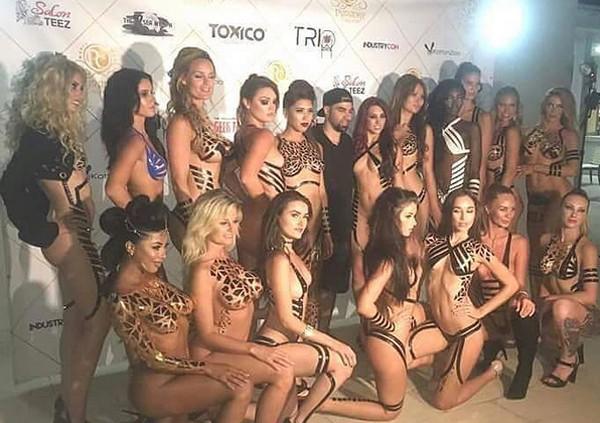 Modelos fizeram turnê por casas noturnas dos Estados Unidos para divulgar a nova tendência (Foto: Reprodução / Instagram)
