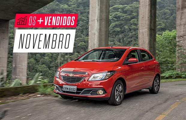 Os mais vendidos de novembro: Chevrolet Onix (Foto: Autoesporte)