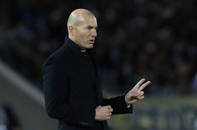 Zidane Real Madrid x América-MEX (Foto: Issei Kato/Reuters)