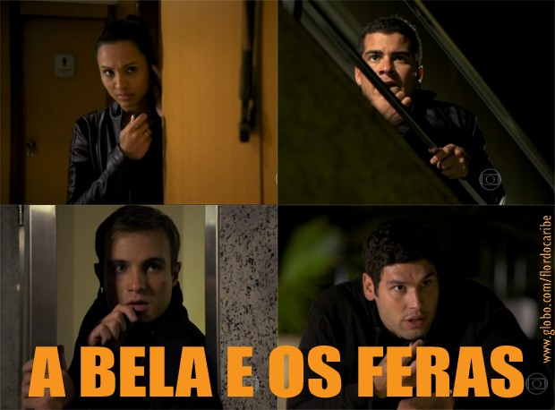 Tenentes (Foto: Flor do Caribe/TV Globo)