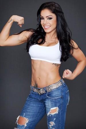 Karla Souza, fisiculturista (Foto: Arquivo Pessoal)
