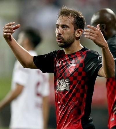 Éverton Ribeiro Al Ahli Dubai (Foto: Reprodução/Twitter)