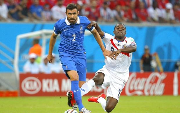 Giannis Maniatis jogo Costa Rica x Grécia (Foto: Reuters)