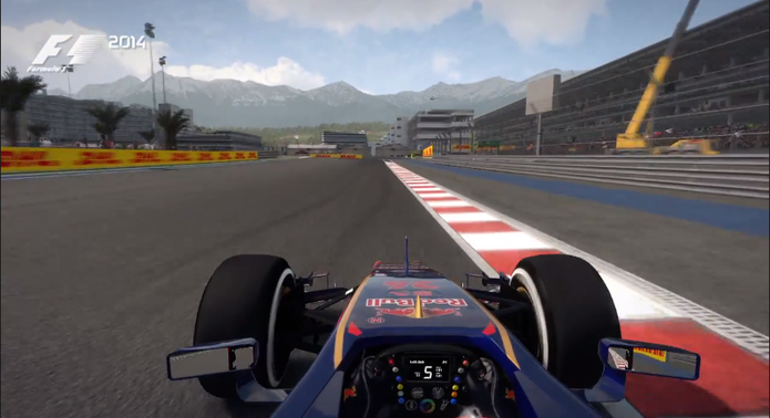 F1 2014 mostra o inédito circuito de Sochi, na Rússia (Foto: Divulgação)