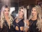 Veridiana Freitas, Janaina Santucci e ex-BBB Cacau badalam