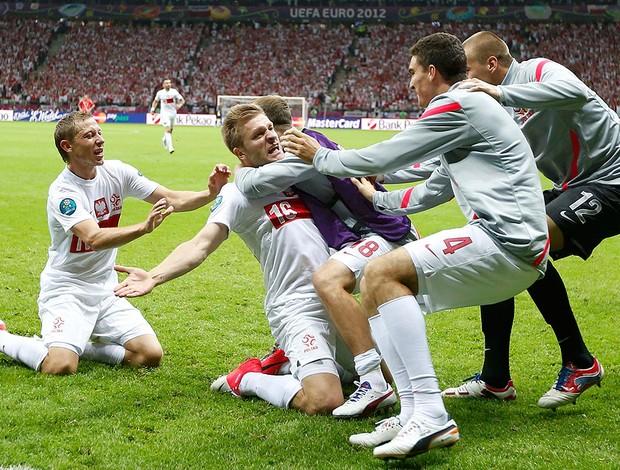 Jakub Blaszczykowski, Polônia x Rússia (Foto: Agência Reuters)