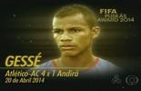 Gessé, Yaya Touré... os 15 golaços que a Fifa esqueceu (Reprodução/TV Acre)