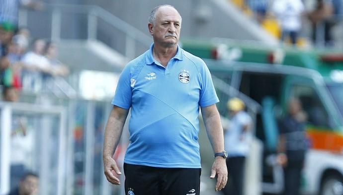 Felipão técnico Grêmio (Foto: Lucas Uebel / Grêmio FBPA)