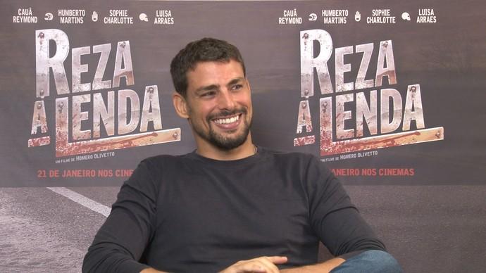 """Cauã Reymond fala sobre seu personagem no filme """"Reza a Lenda"""" (Foto: Foto: Reprodução /TV Diário)"""