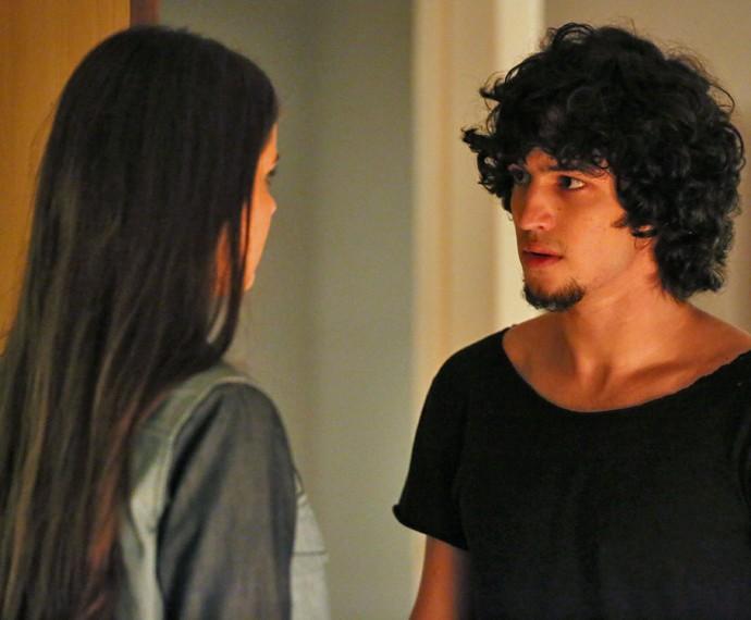 Guilherme diz que descobriu toda a verdade (Foto: Isabella Pinheiro/ Gshow)