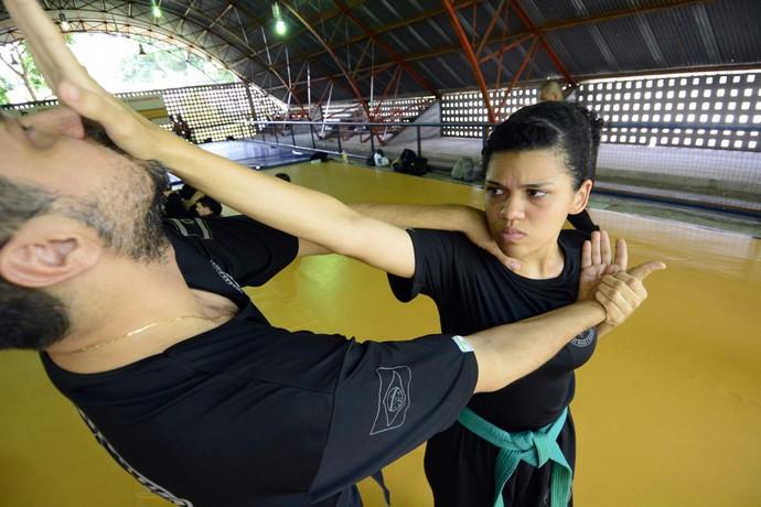 congresso de Krav Magá Manaus (Foto: Antônio Lima/Sejel)