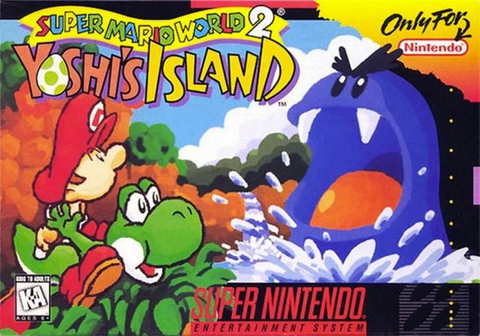 Yoshis Island está entre os melhores jogos do Mario (Foto: Divulgação)