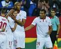 Após dois tropeços, Sevilla vence o Eibar, sobe para 2º e seca o Barça