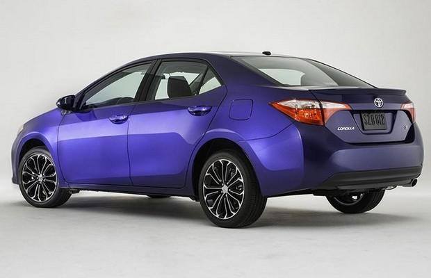 Toyota Corolla 2014 para o mercado dos Estados Unidos (Foto: Toyota)