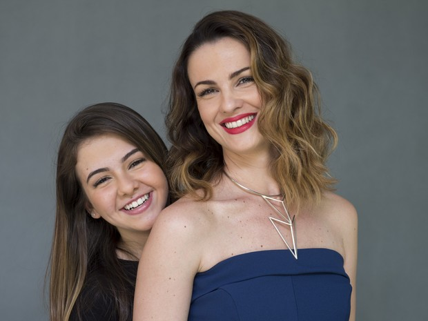 Carolina Kasting será mãe de Klara Castanho na segunda fase de Além do Tempo (Foto: Globo/Estevam Avellar)