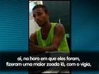 Vídeo mostra confissão de suspeito de assaltar rádio de Sergipe