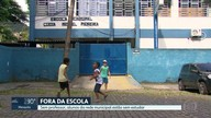 Sem professor, escolas municipais mandam alunos de volta para casa