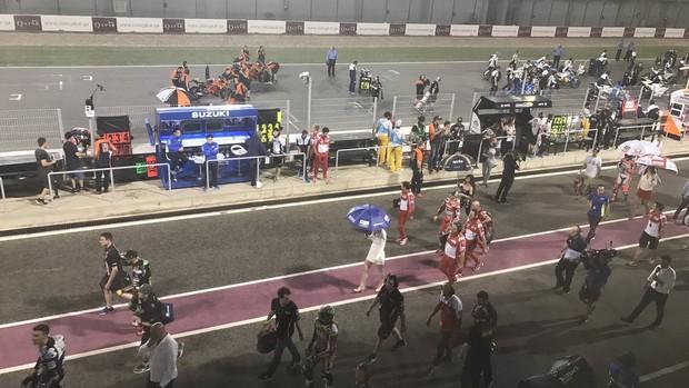 BLOG: Mundial de Motovelocidade - Viñales e Yamaha se impõem no extraordiário e confuso GP do Catar. Dovizioso e Rossi completam o pódio da MotoGP. Morbidelli conquista vitória inédita na Moto2 e Mir fatura na Moto3...