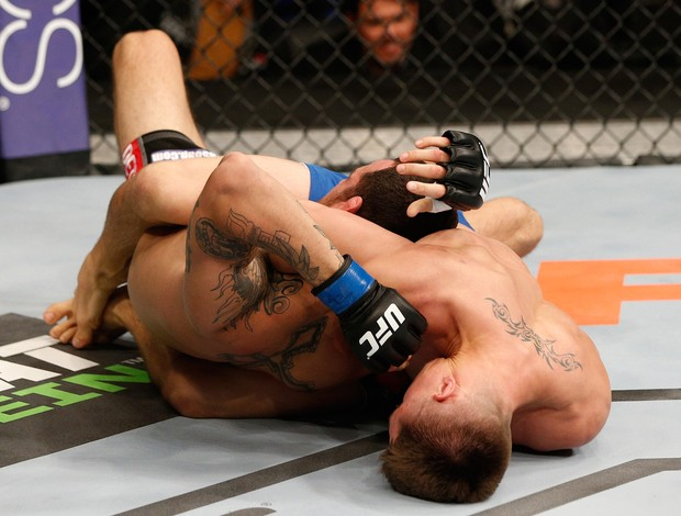 Chris Wade x Cain Carrizosa ufc sacramento (Foto: Getty Images)