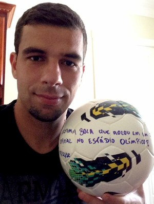 andré lima bola gre-nal olímpico grêmio (Foto: Divulgação/TXT Assessoria)