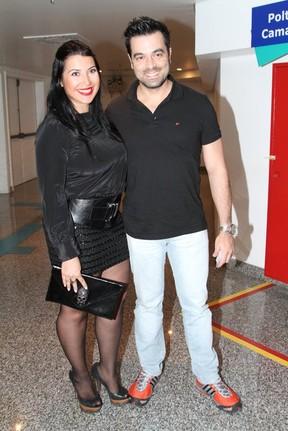 Ex-BBb Priscila com o marido bruno Andrade (Foto: Agnews)