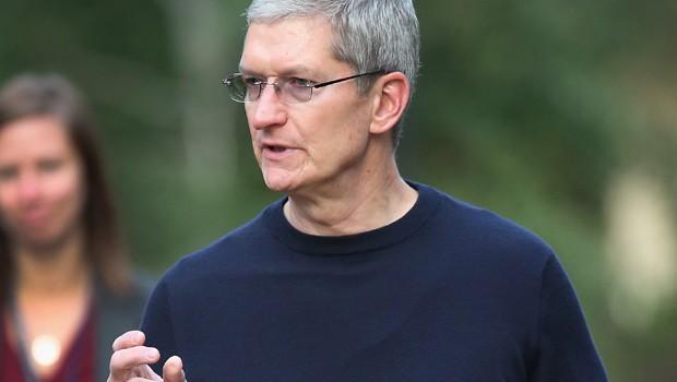 Tim Cook, o CEO da Apple (Foto: Scott Olson/Getty Images)