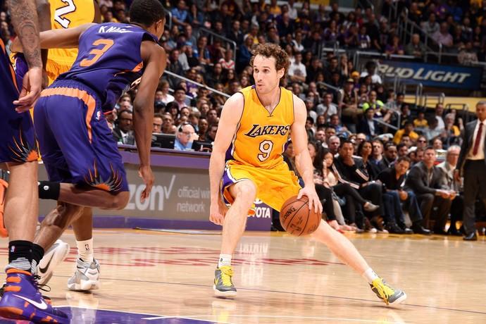 Marcelinho Huertas Lakers x Suns NBA (Foto: Getty)
