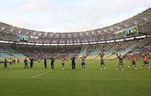 Botafogo comemoração jogo Criciúma (Foto: Satiro Sodre / SSPress)