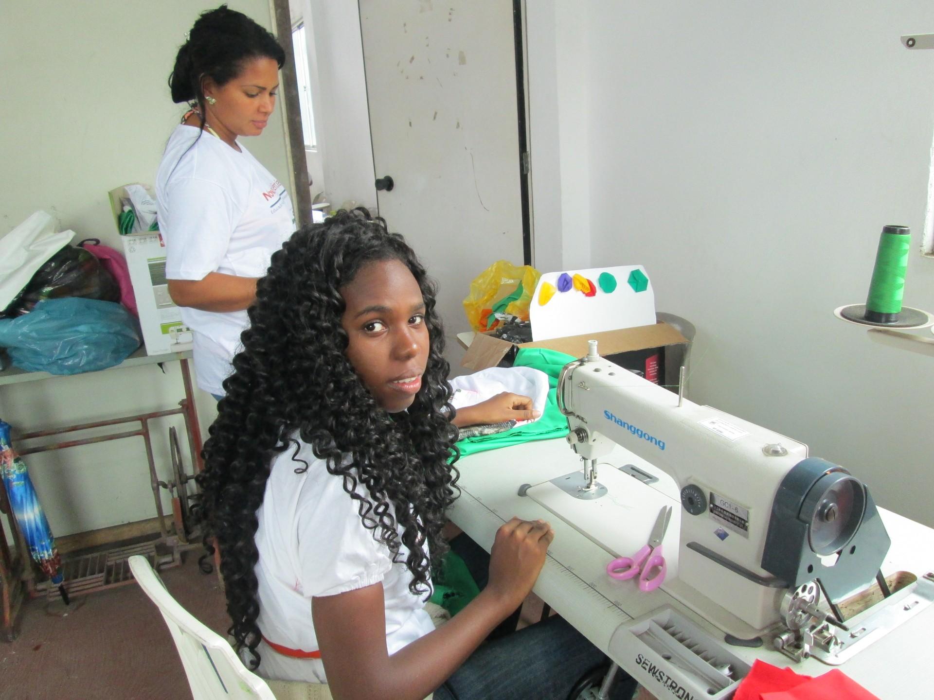 Projeto Novas Tendências - Criança Esperança (Foto: Divulgação)