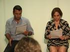 Marcos Palmeira e Heloísa Périssé participam de leitura no Rio