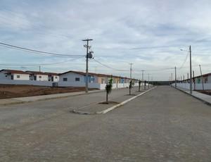 'Mini cidade' será construída ao lado d Estádio Barretão (Foto: Augusto César Gomes/Globoesporte.com)