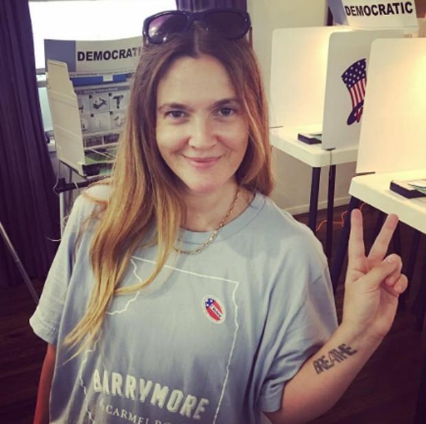 Drew Barrymore posta f... Drew Barrymore Instagram