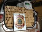 Picapes com 3,6 t de maconha são apreendidas após perseguição em MS