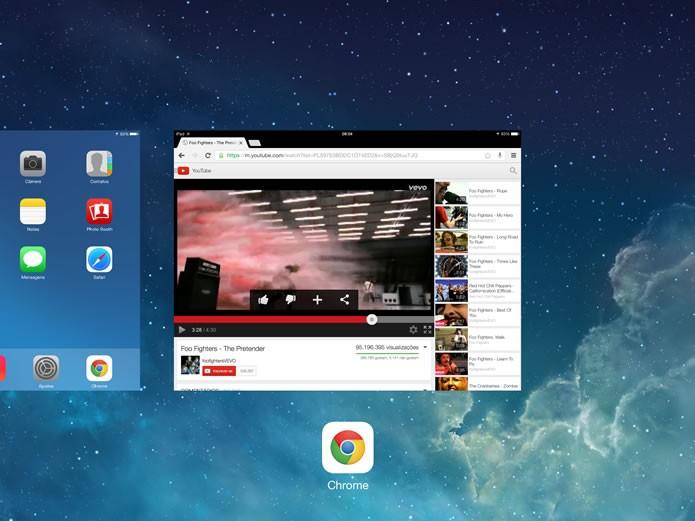 Este recurso do iOS também funcionará com os demais aplicativos para navegar na internet (Foto: Reprodução/Daniel Ribeiro)