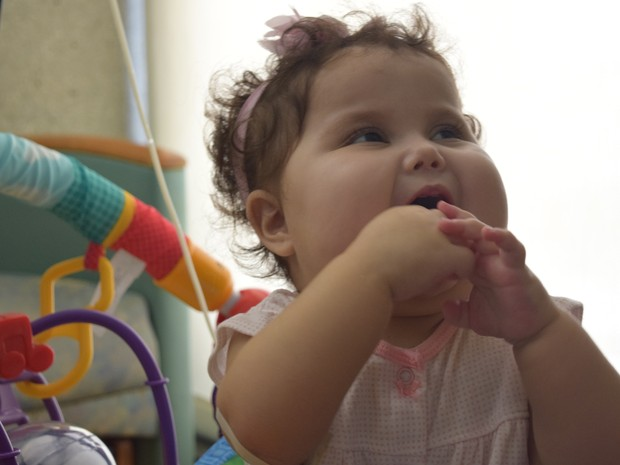 Bebê Sofia, de Votorantim (Foto: Marcus Vinícius Souza/G1)