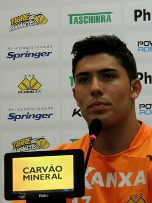 Bruno Lopes Criciúma (Foto: Fernando Ribeiro/Criciúma EC)
