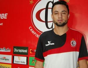 Nando, atacante do Campinense (Foto: Silas Batista / GloboEsporte.com)