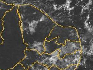 Previsão para os próximos dias é de pouca chuva no Estado (Foto: Funceme/Reprodução)