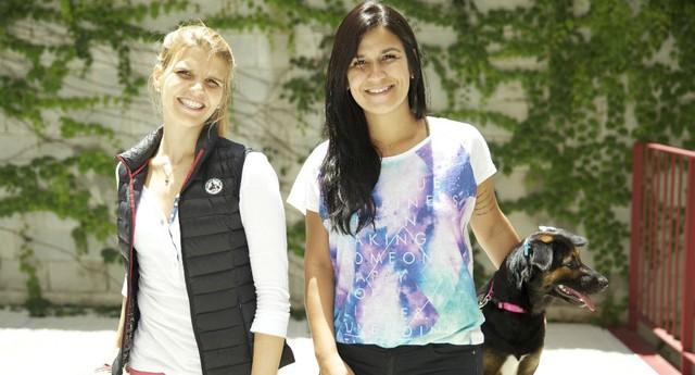 Fernanda Lima, 32 anos, e Luiza Dias, 30 anos, proprietárias da Cozinha 4 Patas (Foto: Divulgação)