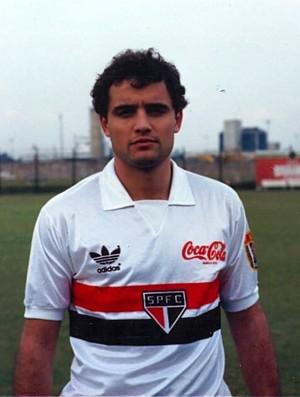 Diego Aguirre São Paulo 1990 (Foto: Arquivo Histórico/São Paulo FC)