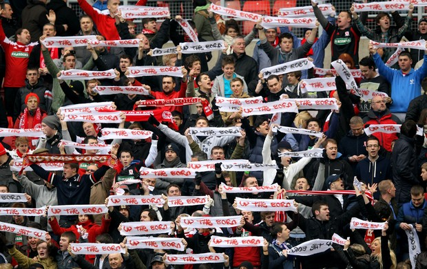 Torcida Middlesbrough (Foto: Getty Images)