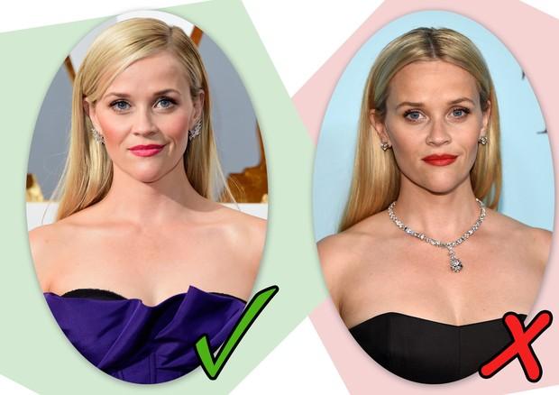 Testa larga: como Reese Whiterspoon mostra, repartir para o lado é pedida certa (Foto: Getty Images)