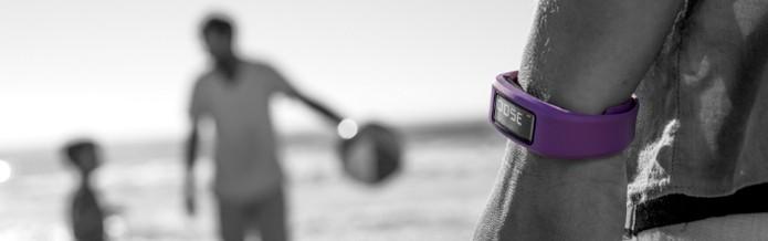 Garmin VívoFit guarda resultados de aitividades físicas para acompanhar evolução (Foto: Divulgação)