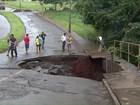 Chuva provoca estragos em várias cidades da região norte do Paraná