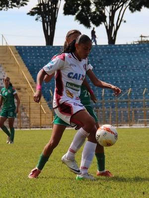 Nenê futebol feminono ferroviária (Foto: Divulgação Francana Futebol Feminino)