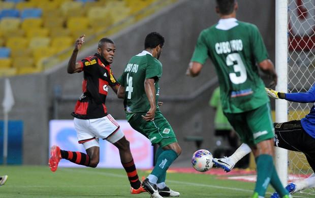 Marcelo Cirino, gol Flamengo x Cabofriense (Foto: André Durão / Globoesporte.com)